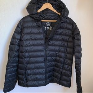 Roots Puffer Down Jacket